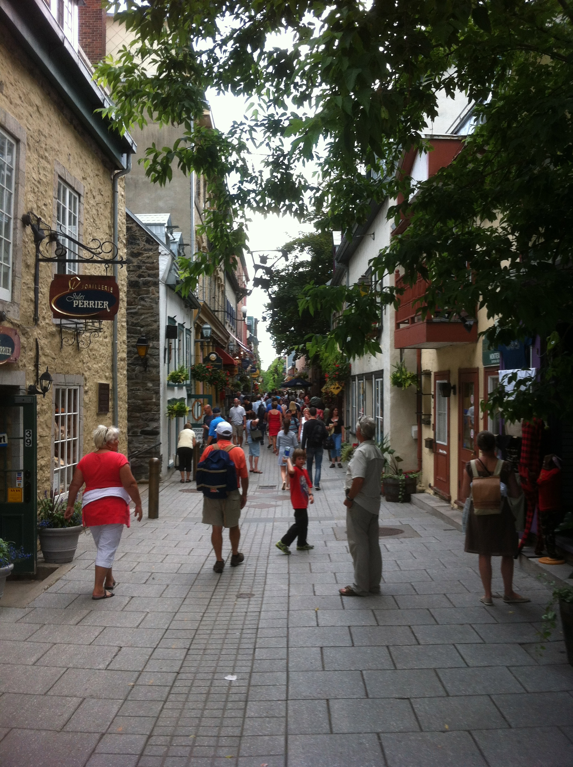 Summer in Quebec City